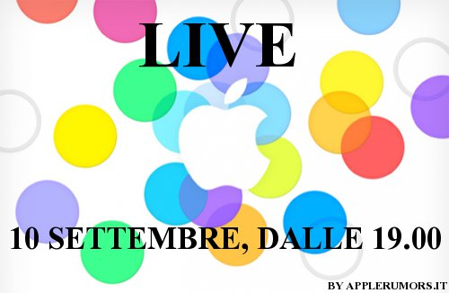 Keynote Apple settembre