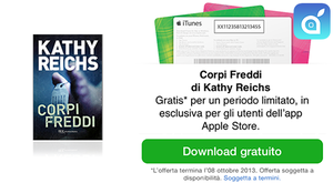 "Apple Store: Kathy Reichs ""Corpi freddi"" in free download"