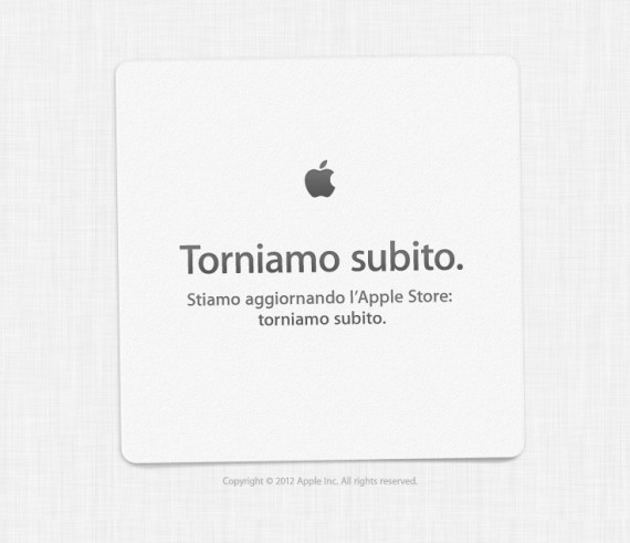 Apple Store off-line, nuovi iPhone in arrivo!