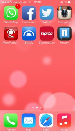 iOS7, pronta la nuova versione di Whatsapp