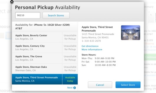 Apple: torna il Personal Pickup per ordinare i nuovi iPhone