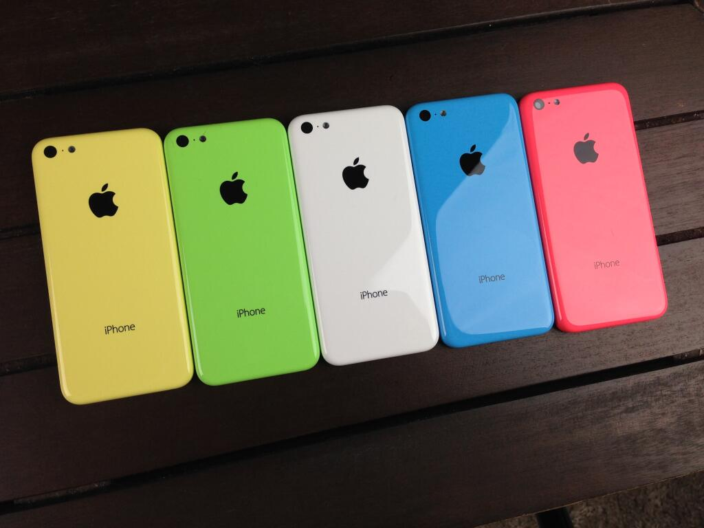 iPhone 5C colori