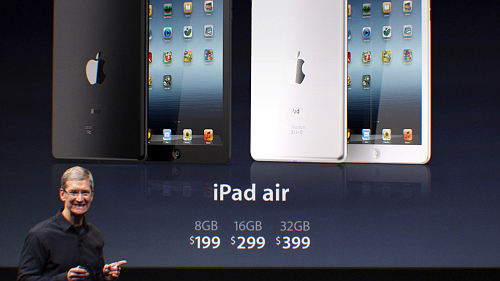 iPad Air: Apple presenta l'iPad di quinta generazione