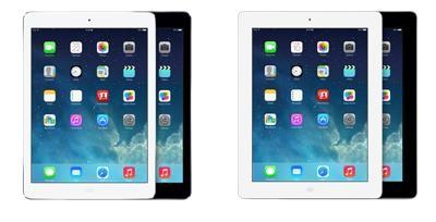 iPad 4 vs iPad Air: sfida nelle dimensioni