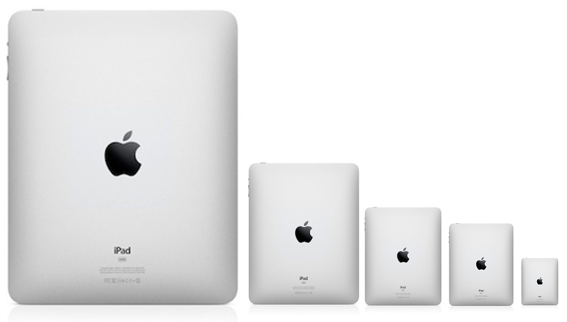 Apple: test su iPad da 12 pollici per il 2014