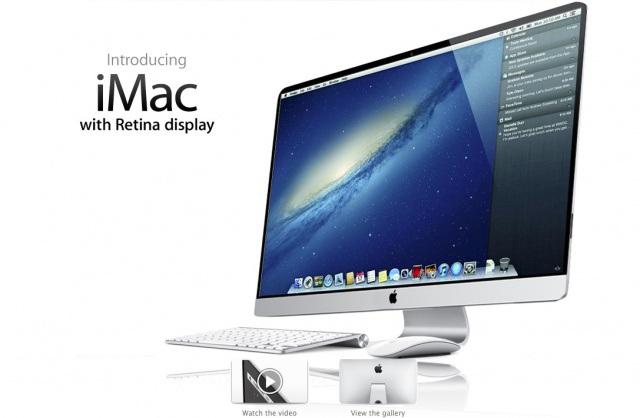 iMac: Thunderbolt display 4K, presto realtà
