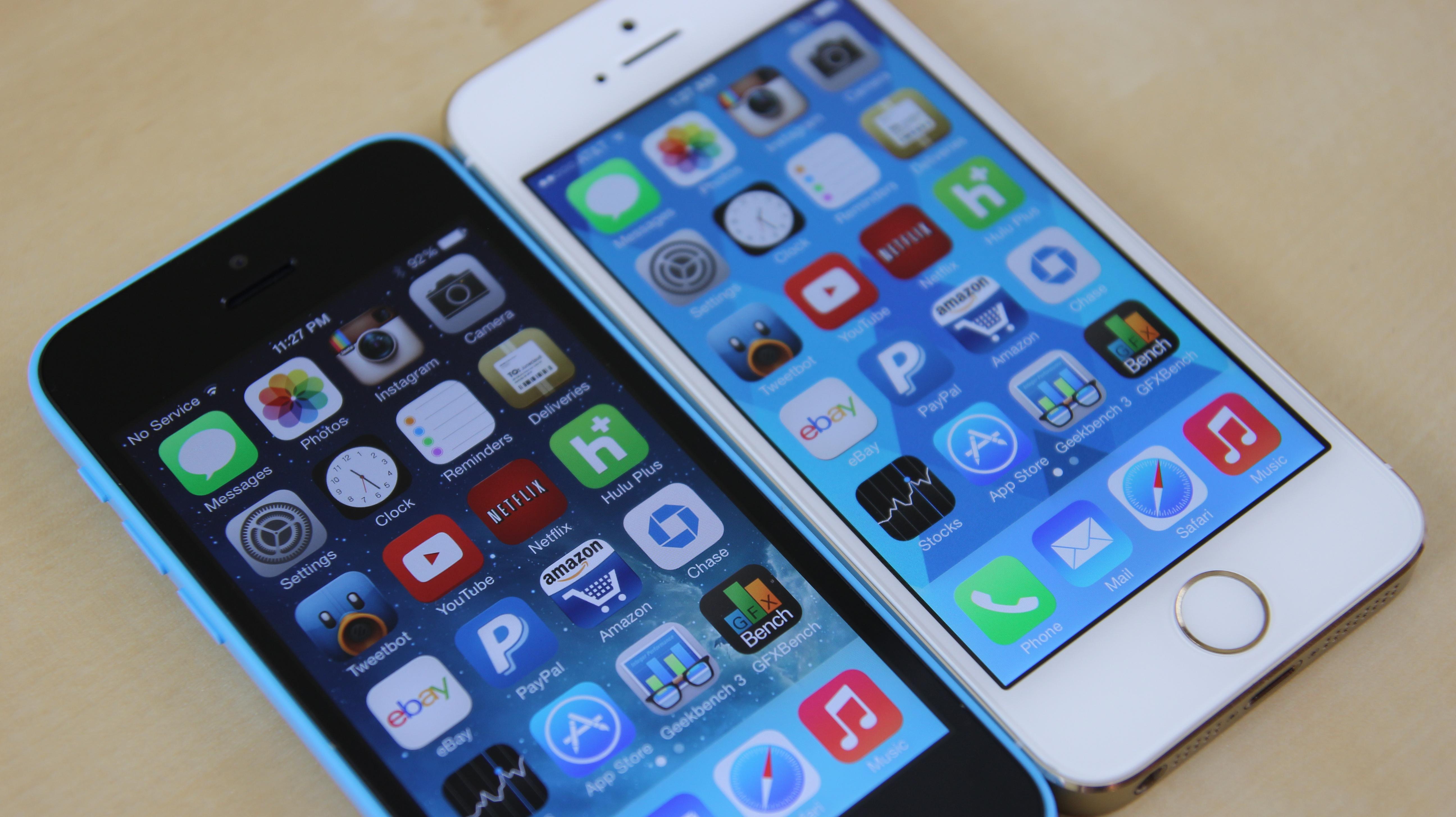 iphone 5s vs 5c