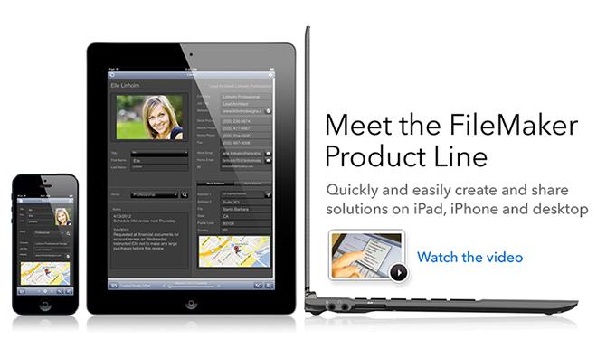 FileMaker 13: la nuova versione su Apple Store