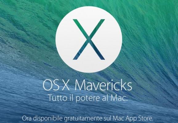 OS X 10.9.1: nuovo aggiornamento disponibile