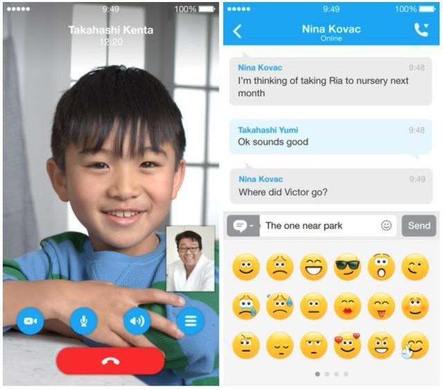 Skype iOS: aggiornamento con grandi novità