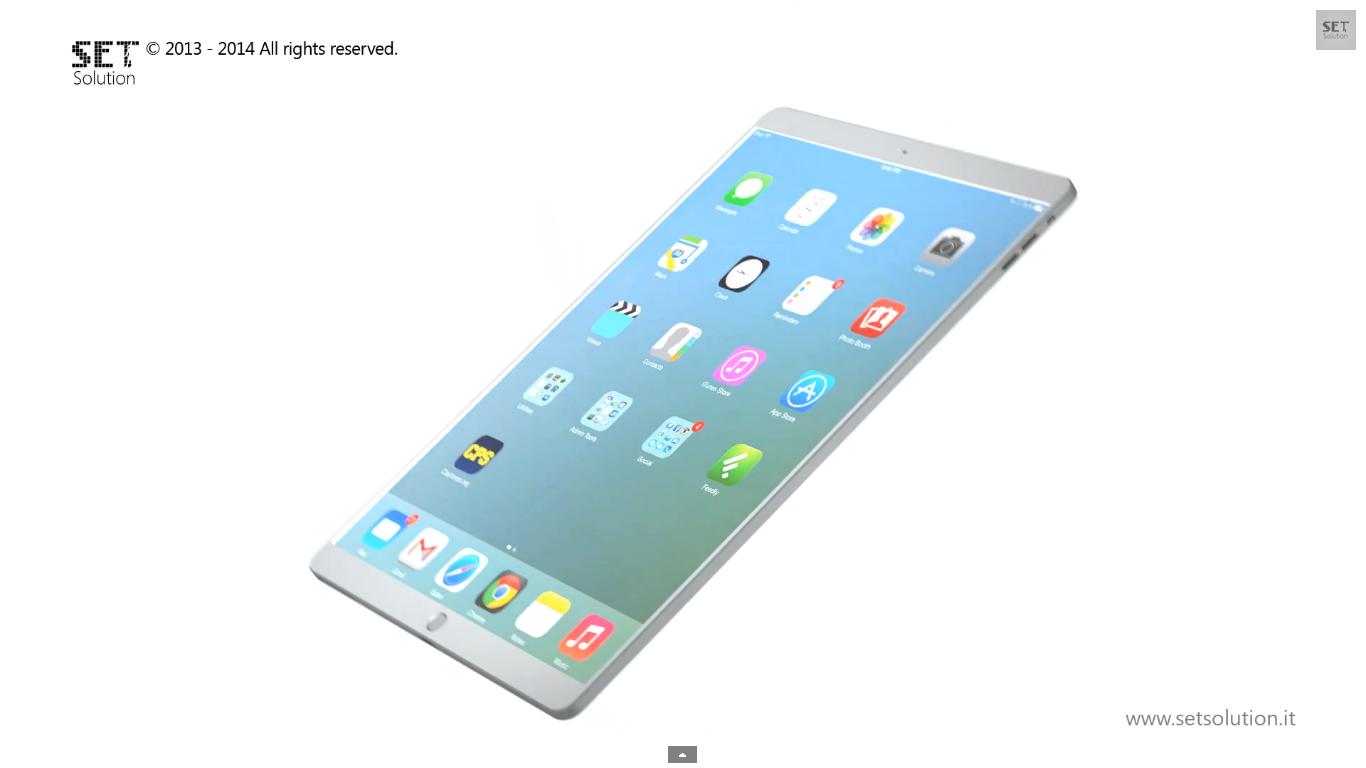 iPad Pro: il video concept di SET Solution