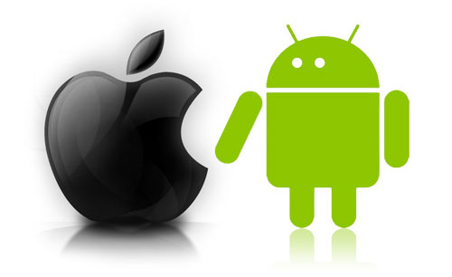 Android-iPhone-Apple