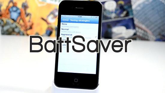 BattSaver for iOS7: la batteria dura più a lungo