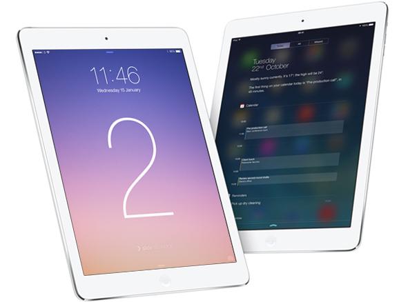 iPad Air: lo spessore si riduce grazie al nuovo display