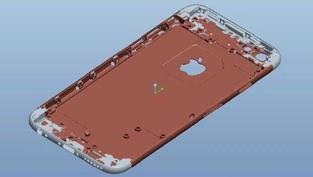 rendering iphone 6