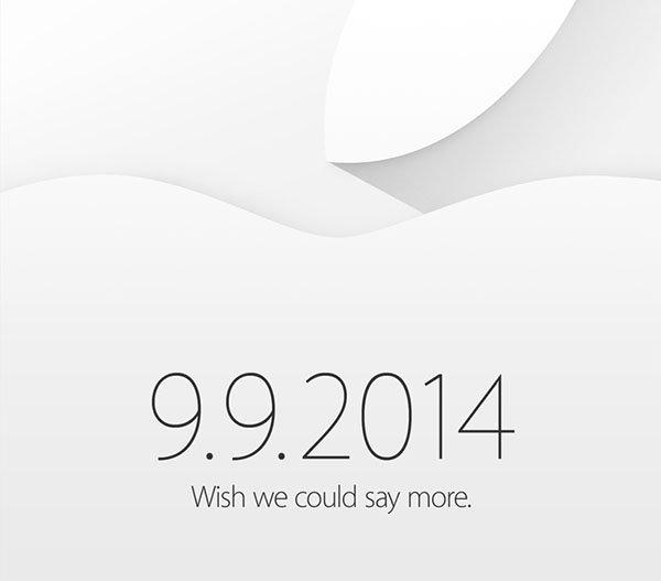 Ci siamo! Apple annuncia l'evento del 9 settembre