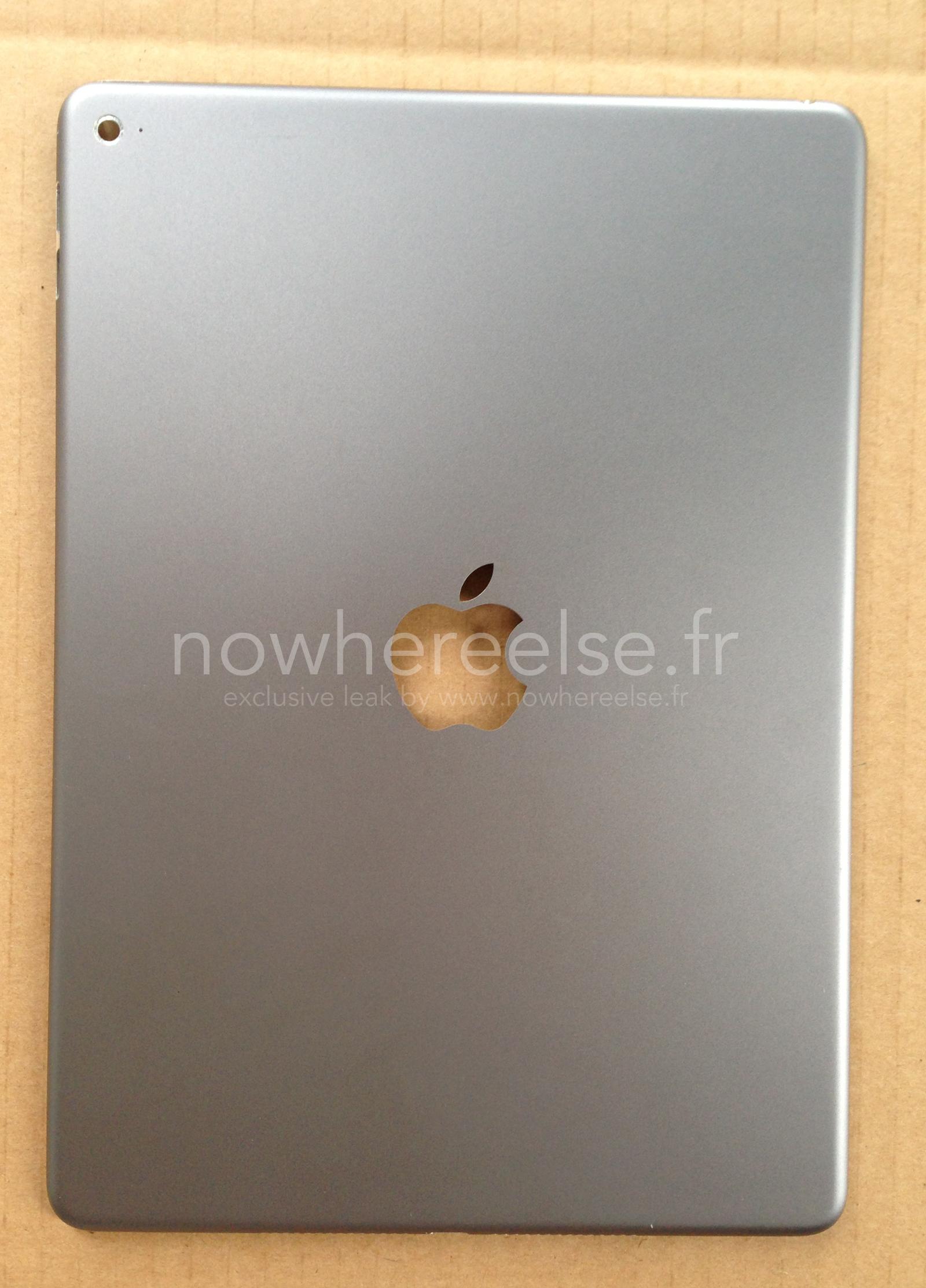 iPad Air 2: foto della scocca posteriore