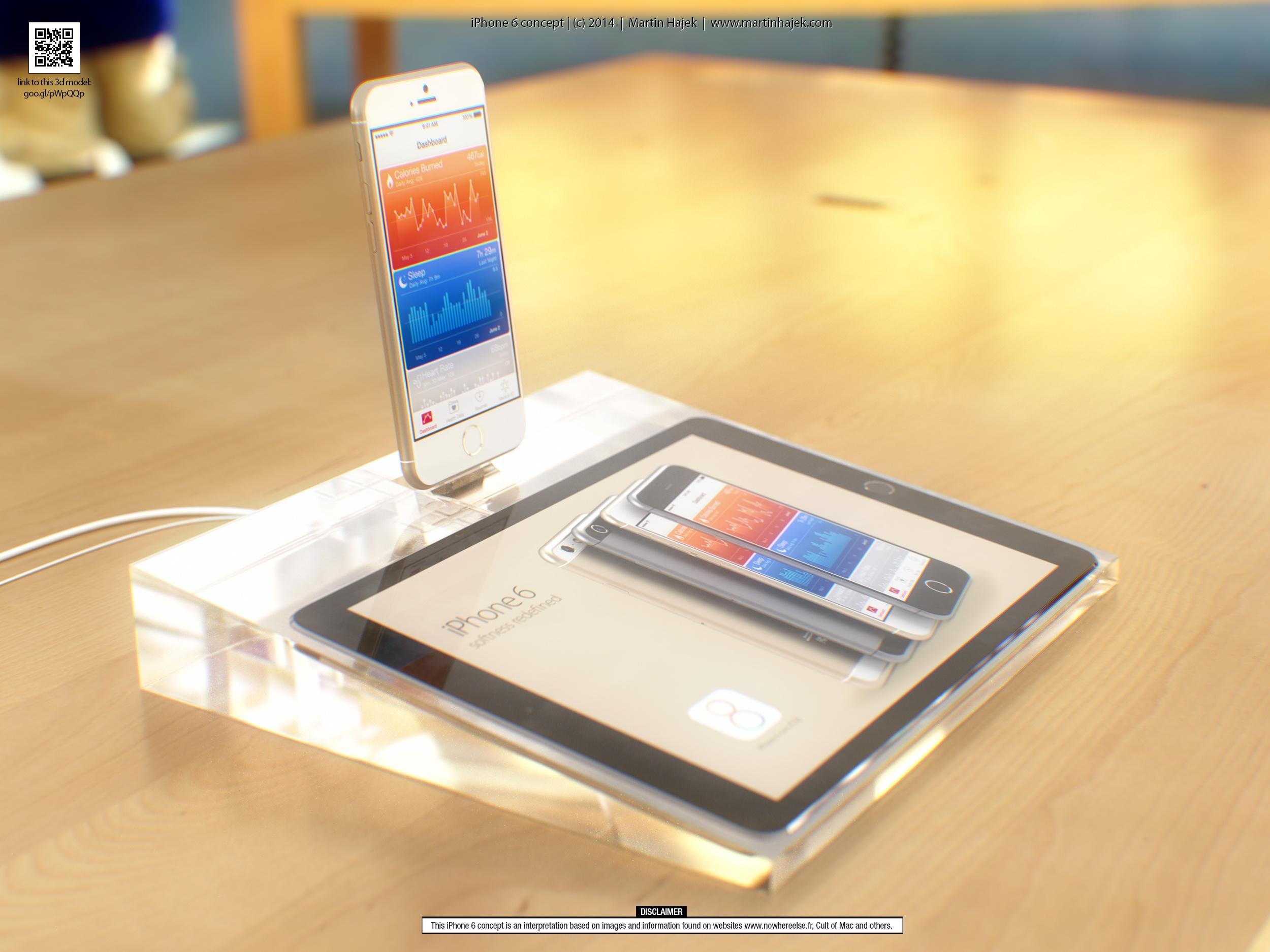 iPhone 6: video concept di Martin Hajek