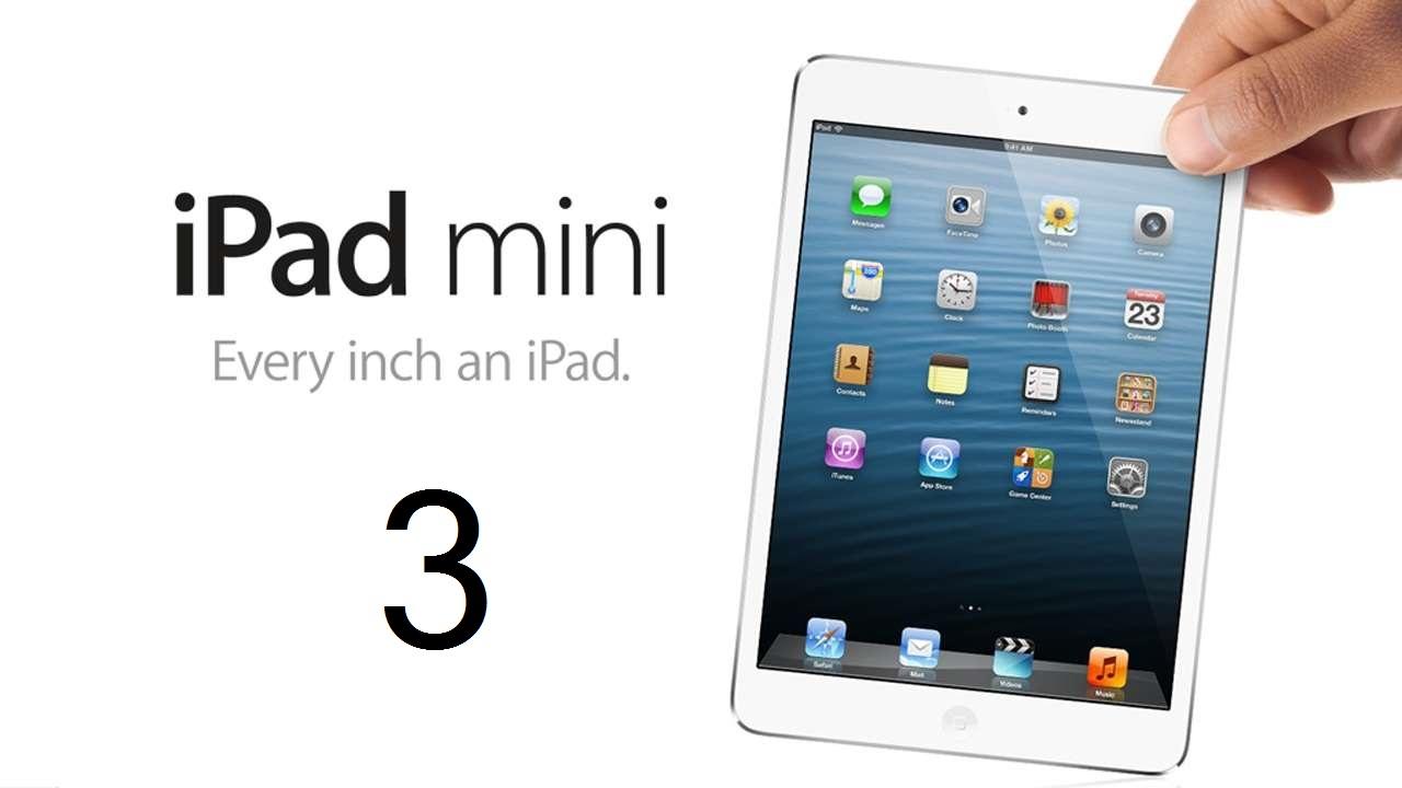 iPad Mini 3: spessore ridotto del 30%