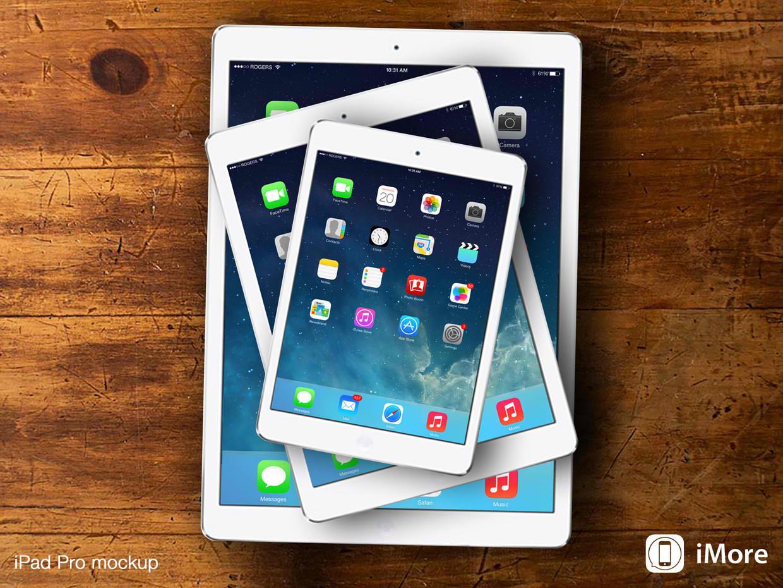 """Apple: misure """"maxi"""" per il nuovo iPad Pro"""