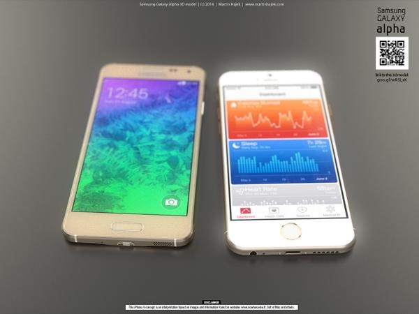 iPhone 6 vs Galaxy Alpha: chi avrà la meglio?