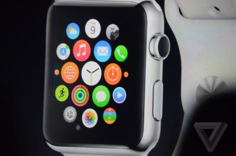 apple watch interfaccia