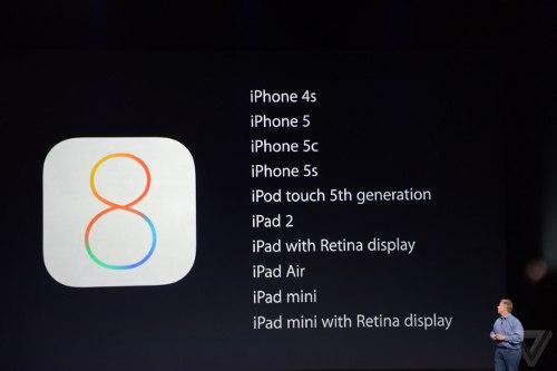 iPhone 6: le novità introdotte da iOS 8