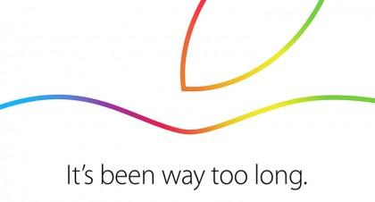 Ufficiale: Apple presenterà i nuovi iPad il 16 ottobre