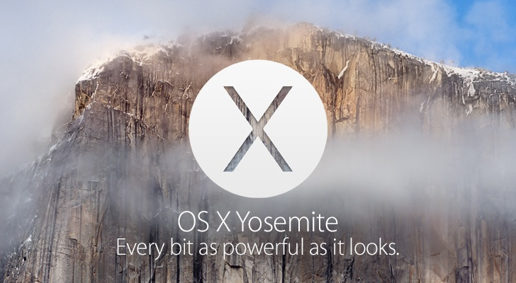 Apple rende disponibile la seconda beta della Golden Master di Yosemite